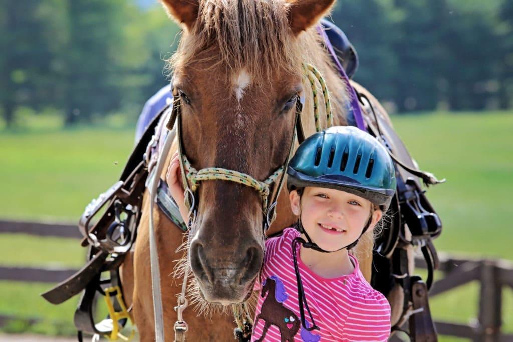 Girl & Horseback Riding