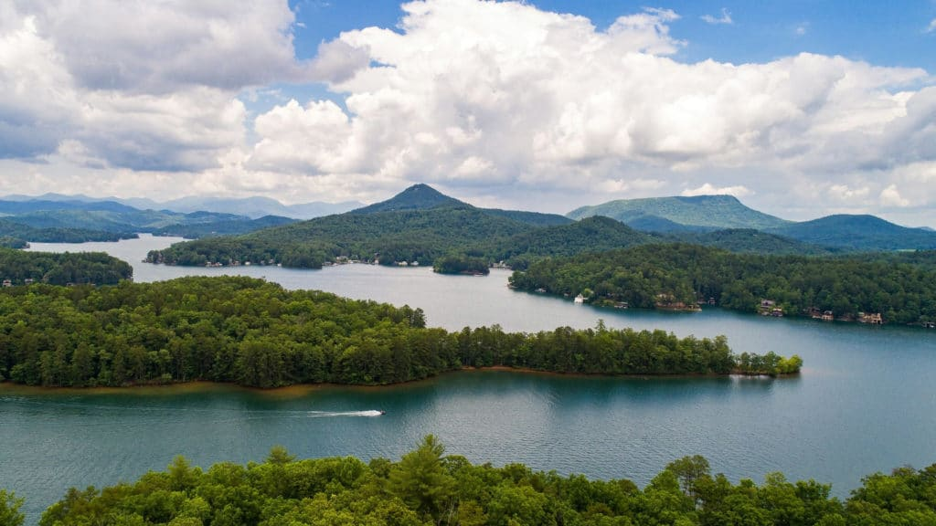 Rabun County lakes