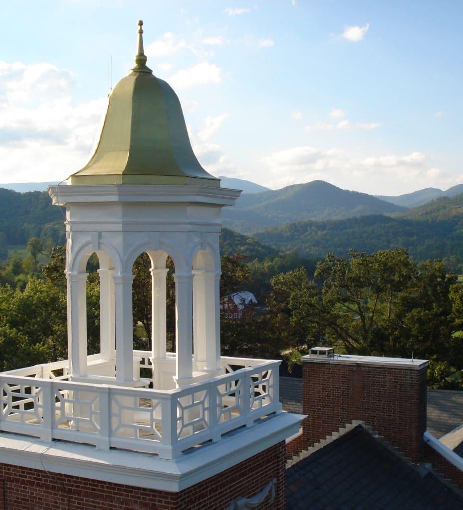 Landscape & Church Steeple