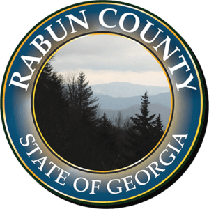 Rabun County Seal Logo