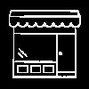Store Icon White